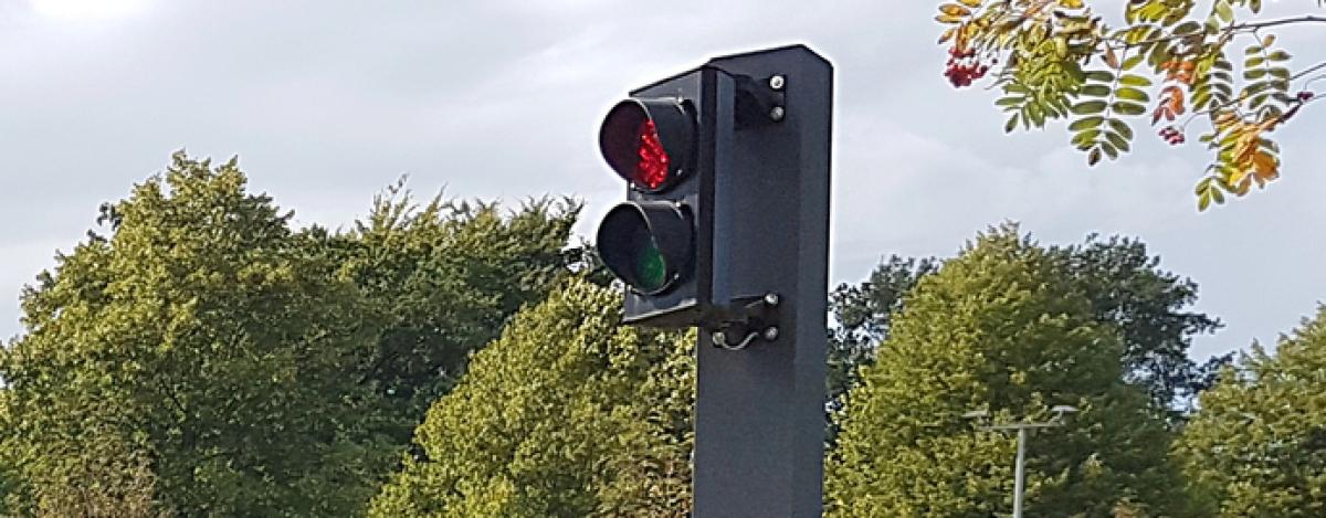 Signalanlage Rot/Grün