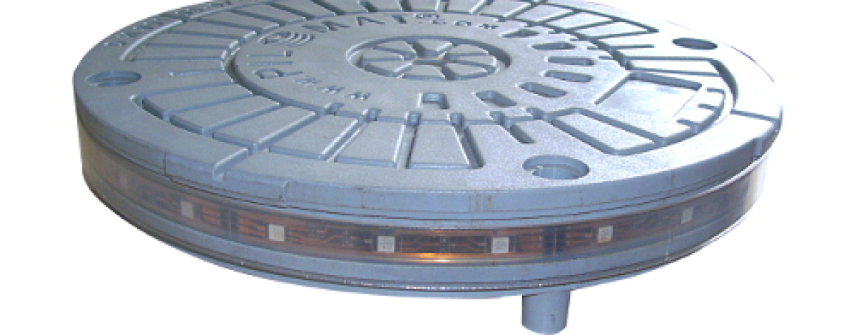 Pilomat Pollerkopf mit Multi-LED