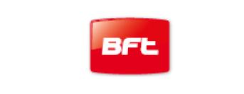 BFT Logo Rot mit weißem Bft Schriftzug