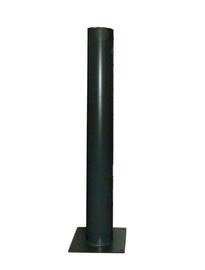 Rammschutzpoller RAL 7016, DRM 151mm Sonderanfertigung