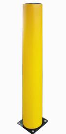 Rammschutzpoller aus flexiblem Kunststoff gelb,  A-Safe