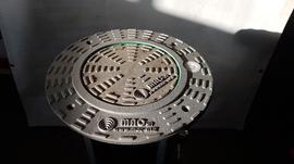Pollerdeckel eines hydraulikpollers CSA300 von MAC